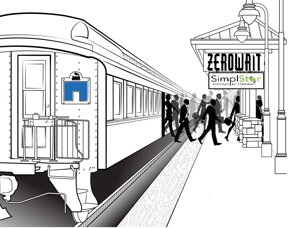 Arriving at Zerowait Station!